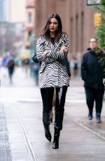 Victoria Justice Out in NYC
