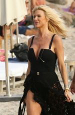 Victoria Silvstedt Hits The Beach In St. Barth For A Steamy Beach Photoshoot