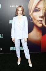 "Violett Beane At ""Bombshell"" New York Screening"