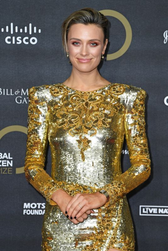 Wallis Day At Global Citizen Prize 2019 in London