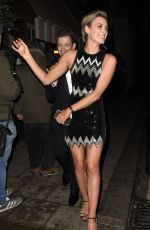 Wallis Day At night out in London