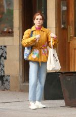 Zoey Deutch Leaving a Coffee Shop in New York