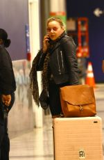 Abbie Cornish Arriving in LA