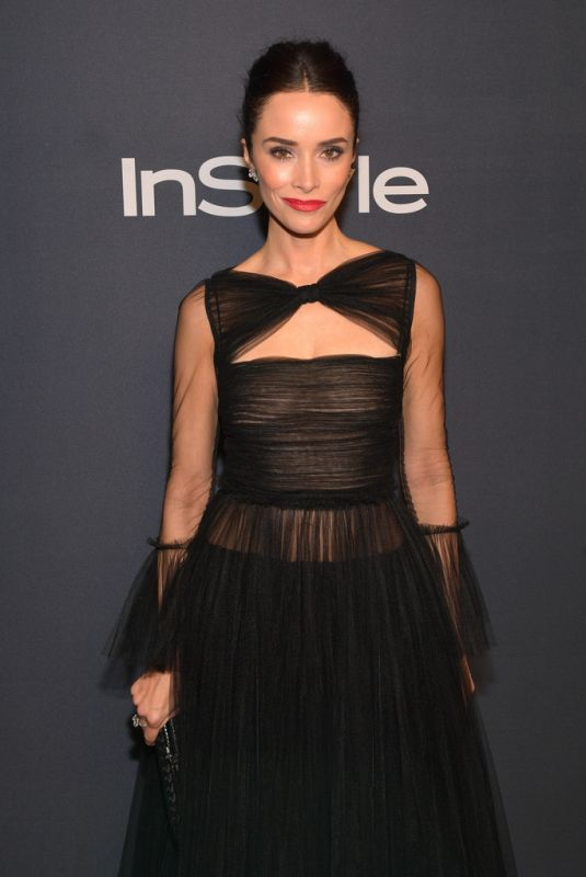 Abigail Spencer At InStyle And Warner Bros. 77th Annual Golden Globe Awards Post-Party
