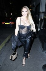 Aisleyne Horgan-Wallace hits the town in Mayfair