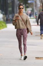 Alessandra Ambrosio Arriving at the gym in LA