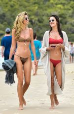 Alessandra Ambrosio On the beach in Florianopolis, Brazil