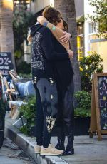 Alessandra Ambrosio Out for lunch at Gjelina in Venice Beach