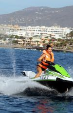 Alexandra Cane Seen on holiday in Tenerife