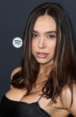 Alexis Ren At Spotify Best New Artist 2020 Party at The Lot Studios in West Hollywood