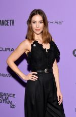 "Alison Brie At ""Promising Young Woman"" Premiere - 2020 Sundance Film Festival"