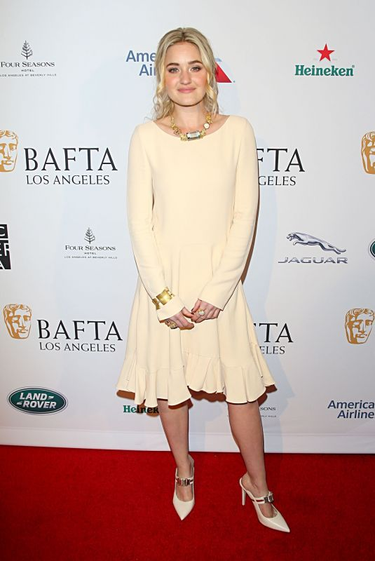 Amanda AJ Michalka At The BAFTA Los Angeles Tea Party