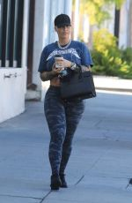 Amber Rose Out running errands solo in Sherman Oaks Los Angeles