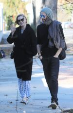 Amy Adams Heading to New Years Day Party with a Friend in Los Angeles