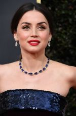 Ana De Armas At the 77th Annual Golden Globe awards in Beverly Hills