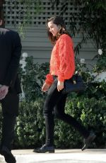 Ana De Armas Heads out to an Awaiting Limousine in Los Angeles