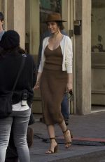 """Ana De Armas On the set of """"Deep Water"""" in New Orleans"""