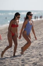 Anastasia Ashley & Racquel Natasha Enjoying a sunny day in Miami Beach