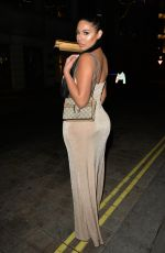 Anna Vakili and Mandi Vakili Arriving at Tramp night club , Mayfair for a new years eve party