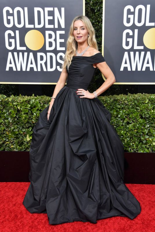Annabelle Wallis At 77th Annual Golden Globe Awards in Beverly Hills