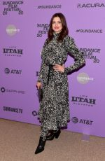 "Anne Hathaway At 2020 Sundance Film Festival - ""The Last Thing He Wanted"" premiere in Park City"
