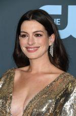 Anne Hathaway At 25th Annual Critics Choice Awards in Santa Monica