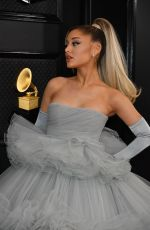 Ariana Grande At 62nd Annual GRAMMY Awards in Los Angeles