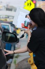 Ariel Winter Keeps a low profile while running errands in Los Angeles