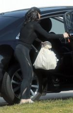 Ariel Winter Returns home after shopping in LA