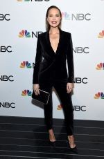 Arielle Kebbel At NBC and The Cinema Society host a party For the casts of NBC Midseason 2020 in NYC