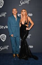 Ashlee Simpson Ross At Warner Bros. & InStyle Golden Globe After Party in Beverly Hills