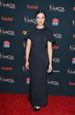 Ashleigh Brewer At 9th AACTA International Awards at Mondrian Los Angeles in West Hollywood