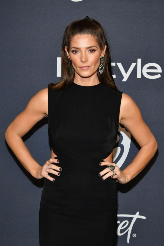 Ashley Greene At Warner Bros. & InStyle Golden Globe After Party in Beverly Hills