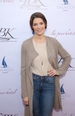 Ashley Greene Attends the GBK and La Peer Pre-Globes Luxury Lounge in Los Angeles
