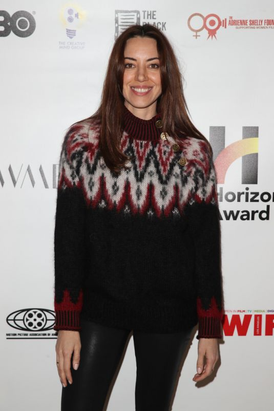 Aubrey Plaza At 6th Annual Horizon Award - 2020 Sundance Film Festival