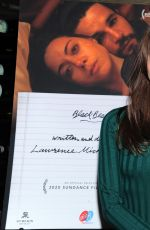"Aubrey Plaza At private dinner during Sundance for ""Blackbear"" hosted by RAND Luxury"