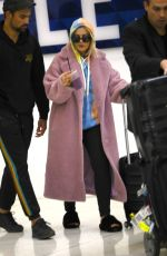 Bebe Rexha Exiting LAX Airport in Los Angeles