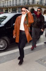 Bella Hadid Seen out & about in Paris