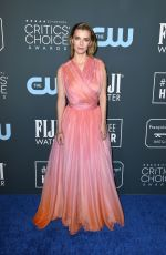 Betty Gilpin At 25th Annual Critics choice awards in Santa Monica
