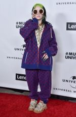 Billie Eilish At Universal Music Group after Party in Los Angeles