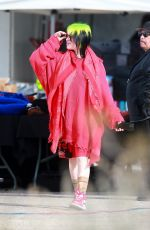 Billie Eilish Doing a photoshoot in Los Angeles