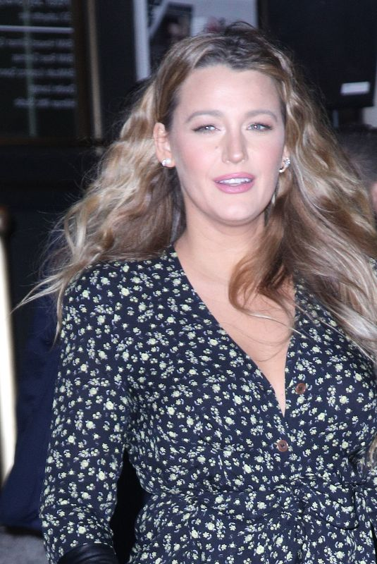 Blake Lively Seen out and about after