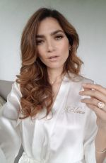 Blanca Blanco Shows off a new look for New Year