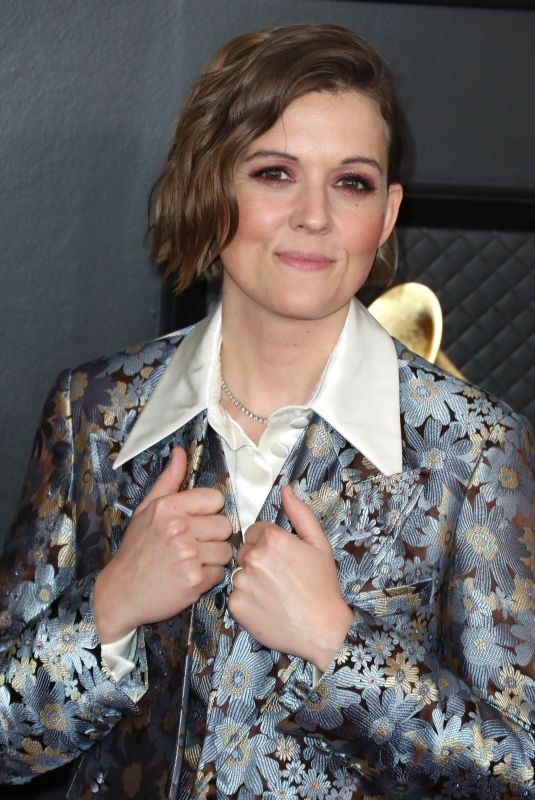 Brandi Carlile At 62nd Annual Grammy Awards, Arrivals, Los Angeles