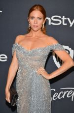 Brittany Snow At 21st Annual Warner Bros. And InStyle Golden Globe After Party