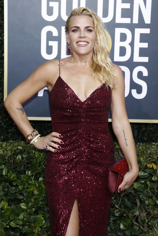 Busy Philipps At 77th Annual Golden Globe Awards at The Beverly Hilton Hotel in Beverly Hills