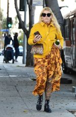 Busy Philipps Seen leaving lunch in Los Angeles