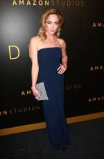 Caity Lotz At Amazon Studios Golden Globes After Party in Beverly Hills