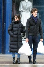 Camila Cabello & Shawn Mendes Out in Toronto