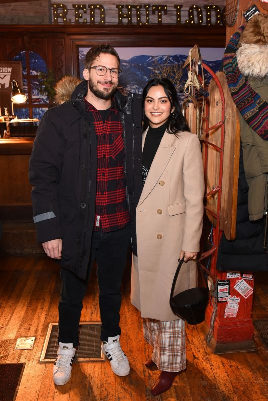 Camila Mendes At Pizza Hut Lounge at Sundance Film Festival in Park City